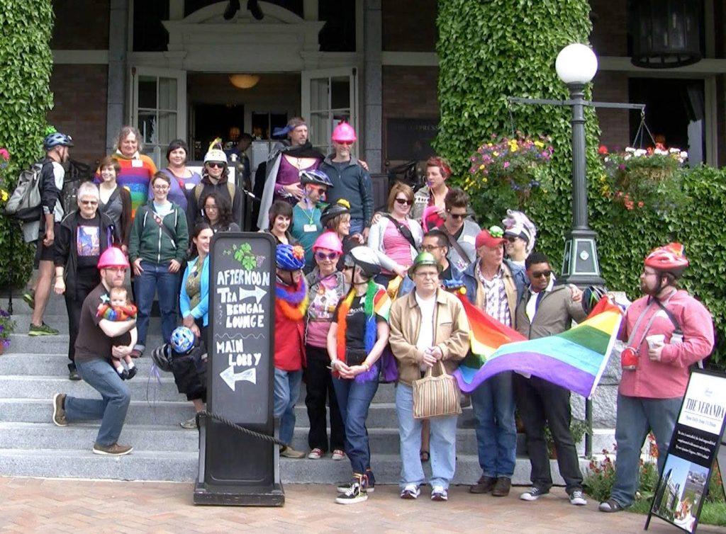 Queerposium group photo